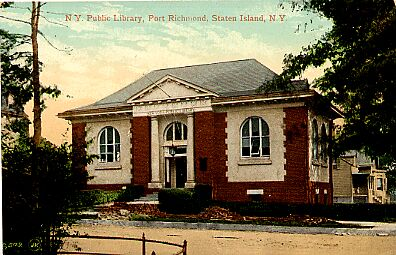 Port Richmond Library, 1908.