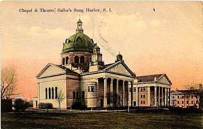 Sailor's Snug Harbor, New Brighton, Chapel & Theater 1909