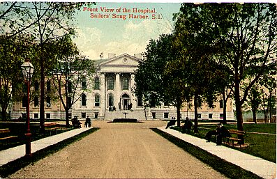 Sailor's Snug Harbor, Hospital, Circa 1910