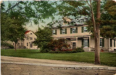 Sailor's Snug Harbor, Matron's House & Laundry, 1919