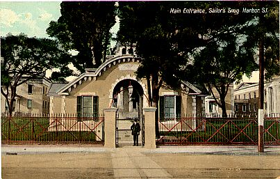 Sailor's Snug Harbor, Main Entrance, Circa 1910