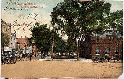 Water Street, Stapleton, Circa 1910
