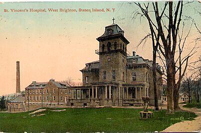 St. Vincent's Hospital, West Brighton, 1911.