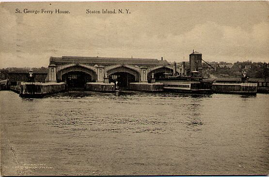 St. George Ferry House 1913